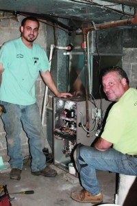 Cliff's Heating donates equipment and services to keep historical building warm.