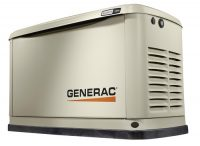 Generac 11kW, 16kW and 22kW Guardian® Series with Whole House Transfer Switch